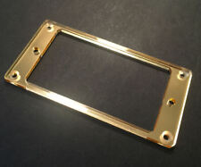 Guitar Hardware Humbucker Pickup MOUNTING RING Trim Bezel - GOLD MIRROR