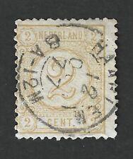 Nederland 1876 NVPH 32C met kleinrond (tweeletter) stempel HAARLEM 12 OCT 77