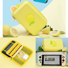Carrying Case Protective Travel Cover Storage Bag For Nintendo Switch Lemon ESB