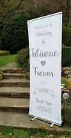 Large Wedding Signs Personalised • Welcome To Our Wedding Sign • Any Wording