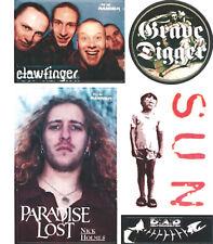 Metal Hammer-autocollant-sticker Arc-Paradise Lost CLAWFINGER grave Spéléon