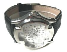 Ice Master BM1311b Mens Formal Watch Black F Leather Band, Mens Sports Watch