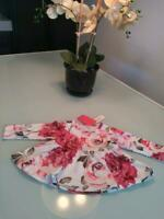PATPAT Infant Girl's Floral Rose Top + Headband Size 9-12 mos - NWT!