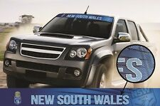 620399 NEW SOUTH WALES - STATE OF ORIGIN COLOUR VISOR SEE THRU DECAL CAR SOO NSW