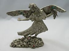 New Fantasy Mythical & Magical Comstock Limited Edition Pewter Jeweled Fairy