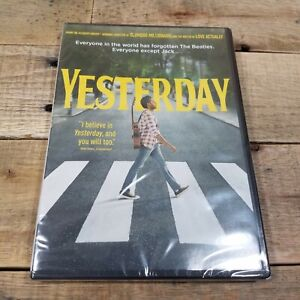 Yesterday DVD Himesh Patel NEW