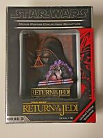 Star Wars CODE 3 ROTJ Return of the Jedi 3D Sculpted Movie Poster Statue Sealed