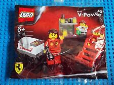 LEGO - SHELL V-POWER ( SET 30196 - FERRARI PIT CREW ) BRAND NEW
