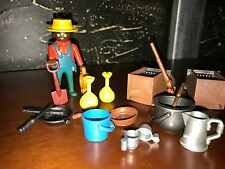 Playmobil LYRA 3747 - Gold miner With Accessories From LYRA - RARE!! - NO BOX!!
