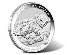 New 2012 Australian Silver Koala 1oz Silver Bullion Coin (In a Capsule)