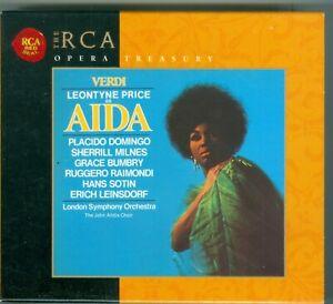VERDI LEONTYNE PRICE AS AIDA THE RCA OPERA TREASURY 2 CD WITH BOOKLET