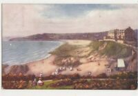 Langland Bay Swansea 1904 Tuck Oilette 798 Postcard 735b