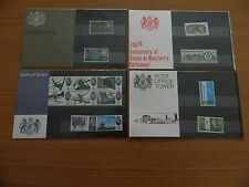 1965 YEAR SET OF 4 PRESENTATION PACKS  (Nos 5,6,7,8) IN MINT CONDITION