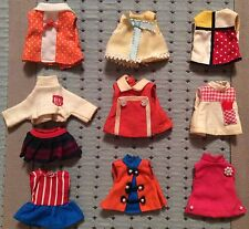 """Lot of Vintage Minty Tiny Doll Clothing for Tiny Teens Hiedi and Other 5"""" Dolls"""