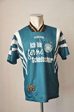 1996 DFB Deutschland Trikot Gr S Adidas Germany Jersey WM EM Away Schiedsrichter