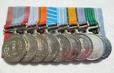 Ordre Inde 9 Er Ordensspange Mit 9 Médailles en Barrette avec 2 Aiguilles !