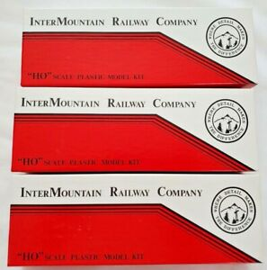 Lot 3-InterMountain Railway Company Delaware & Hudson PS-1 Freight Box Car Kit