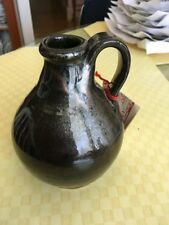 Old Sturbridge Village Small Redware Pottery One Handled Jug