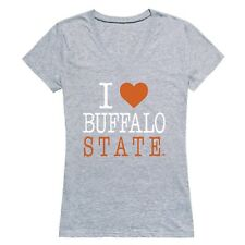 Buffalo State College Bengals I Love Women's Tee NCAA Tee T Shirt
