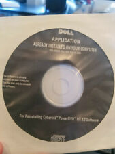 Dell Application CD Reinstalling Cyberlink PowerDVD DX 7.0  0M082R NEW SEALED