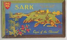 Sark Sark Official Guide & Prospekt Capri der Channel 1957