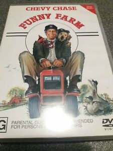 Funny Farm DVD Chevy Chase Comedy Region 4 NTSC 1988