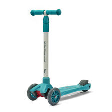 Svolta Mega 3-Wheel Kick Scooter for Kids / Boys / Girls / Unisex - Teal/Gray