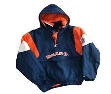 Vintage Chicago Bears NFL Starter Jacket, Sz Medium, Parka, Zip, Pouch