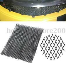 "13""x40"" Universal Car Vehicle Black Silver Body Grille Net Aluminum Mesh Grill"