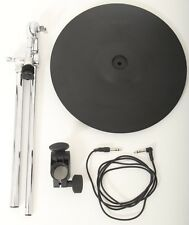 "Roland CY14C 14"" Electronic Dual Trigger Crash Cymbal + Boom Arm + Clamp + Lead"