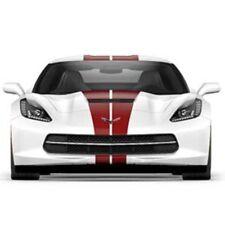 2014 2015 2016 Corvette dual racing stripe decal kit. Claret GM# 23172538