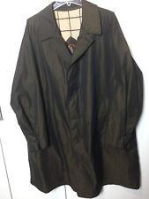 San Giorgio Impermeabili Rain Coat Mens Trench Style Raincoat Jacket