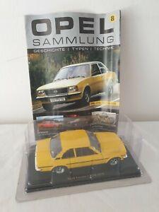 Hachette Opel Sammlung Nr. 8 Opel Ascona 1.9/SR von 1975 1:24 OVP