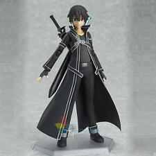 For SAO Sword Art Online Kirigaya Kazuto Kirito Figma PVC Action Figure In Box A