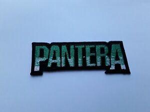 Pantera Patch Punk Rock Heavy Metal Pop Music Sew/Iron On Badge