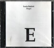 BATTISTI LUCIO HEGEL CD NUOVO SEALED