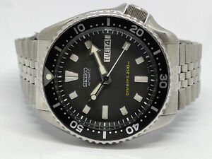 PRE OWNED SEIKO SCUBA DIVER 7S26-0020 SKX399 AUTOMATIC MENS WATCH 796612