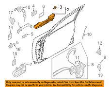 Infiniti NISSAN OEM 03-08 FX45 Front Door-Handle Base Left 80611CG005