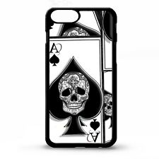 Ace of spades playing card tattoo poker skull cool graphic art phone case cover
