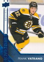 2016-17 Upper Deck Overtime Hockey Blue #148 Frank Vatrano Boston Bruins