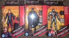 DC Multiverse Superman Batman Cyborg Justice League Movie Snyder Mattel 2017 Set