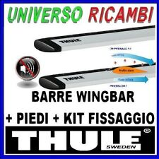 BARRE PORTATUTTO THULE WINGBAR KIT COMPLETO FIAT Panda Cross dal 2014>