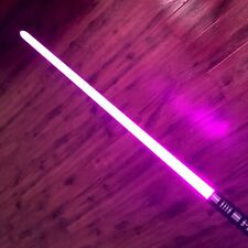 US Stock Lightsaber RGB Force FX Duel Color Change Metal Handle Light Saber Gun