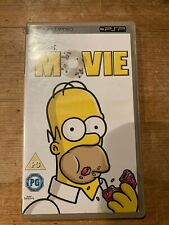 UMD VIDEO SONY PSP THE SIMPSONS MOVIE