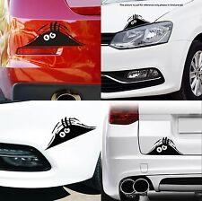 ADESIVO AUTO MOTO 3D 20X8 STICKERS FACCIA MOSTRO CHE SBIRCIA CAR MONSTER TUNING
