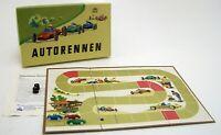 AUTORENNEN-Brettspiel aus der DDR-SPIKA mit 3 Auto's & Spielanleitung OVP