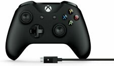 Microsoft 4N6-00001 Wireless Xbox Controller with PC Cable - Black (Open Box)