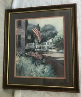 Vintage Vladmir Arts Nantucket Colors Landry Limited Edition Lithograph Printed