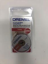 """Dremel EZ456 1-1/2"""" EZ Lock Cutoff Wheels 5 Count BRAND NEW SEALED FAST SHIPPING"""