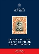Stanley Gibbons 2020 Commonwealth & British Empire Stamp Catalogue 1840-1970 New